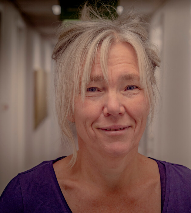 Annika Damm porträtt