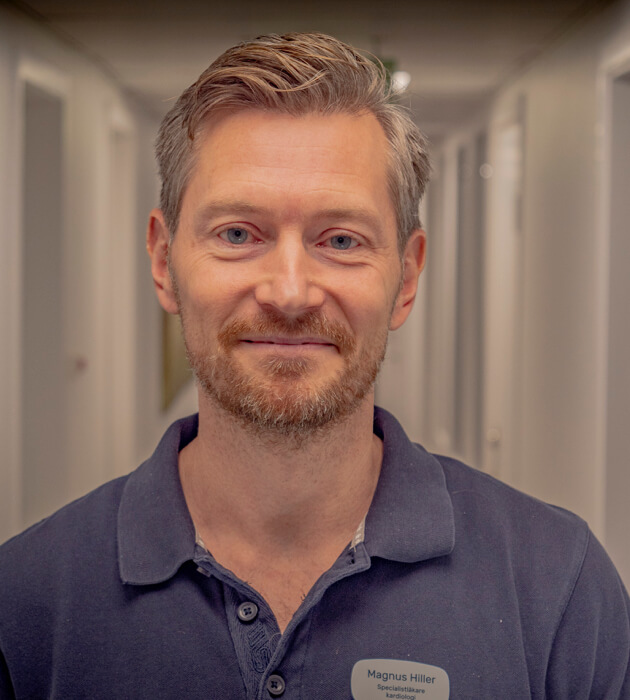 Magnus Hiller porträtt